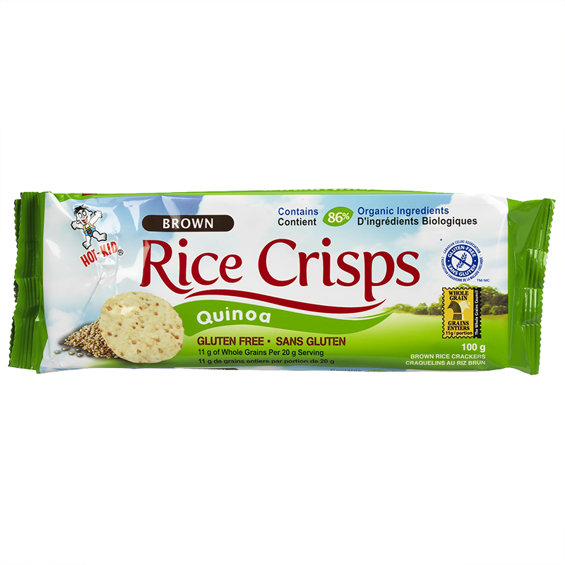 Hot Kid Rice Crisps - Quinoa - 100g