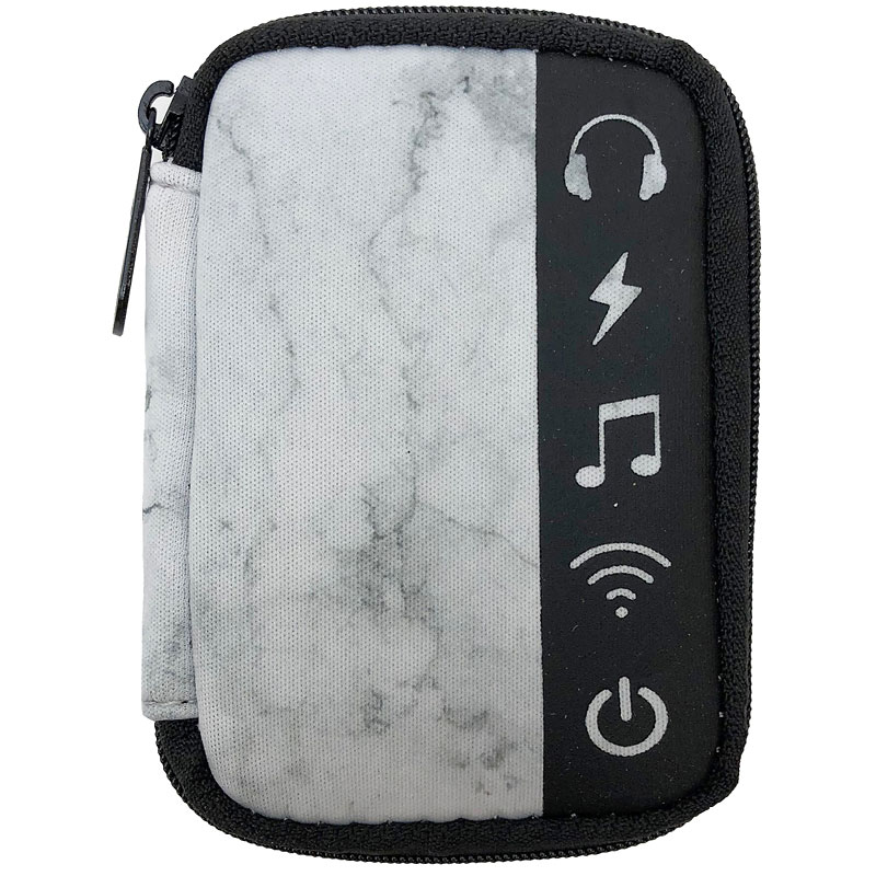 My Tagalongs Ear Bud Case - Marble & Black - 57003