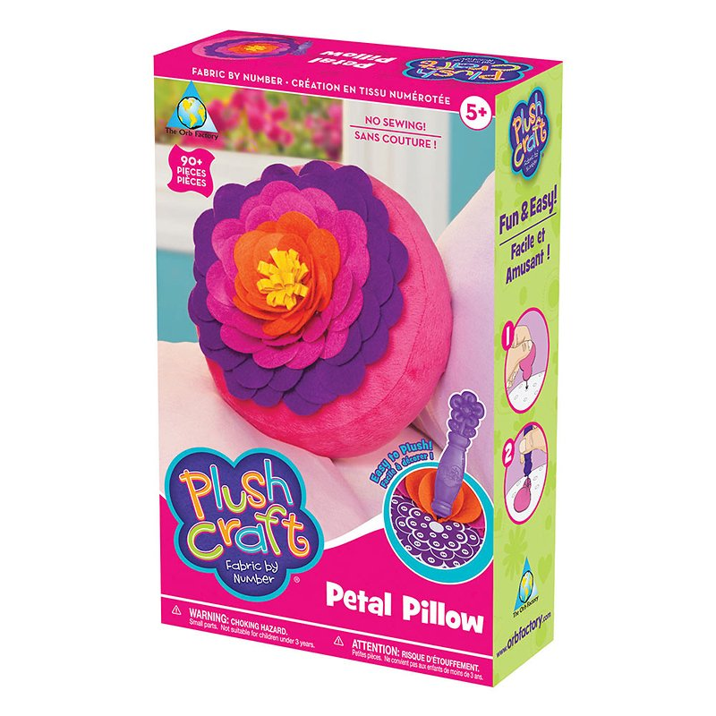 The Orb Plushcraft Petal Pillow