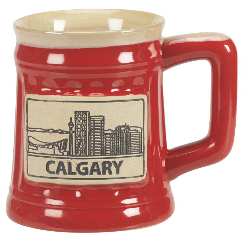 London Drugs Stoneware City Mug - Calgary - 18oz