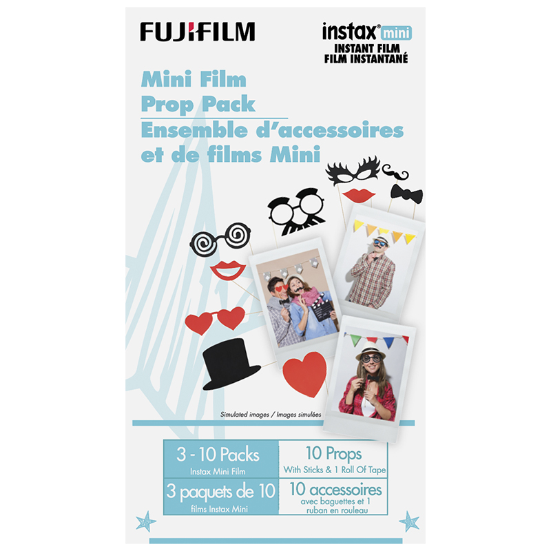 Fujifilm Instax Mini Film Prop Pack - 600018639