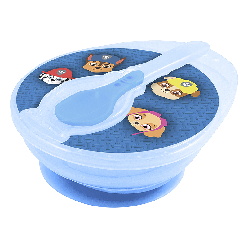 Paw Patrol Boy's Suction Bowl and Spoon Set