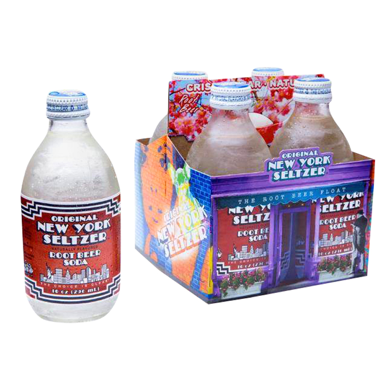 New York Seltzer - Root Beer - 4 x 296ml