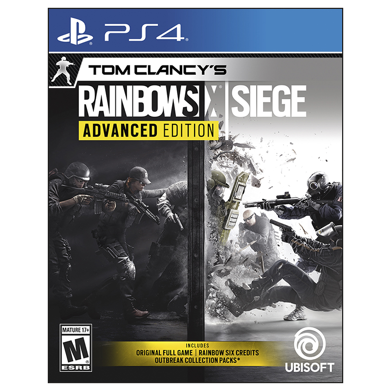 PS4 Rainbow Six Siege - Advanced Edition