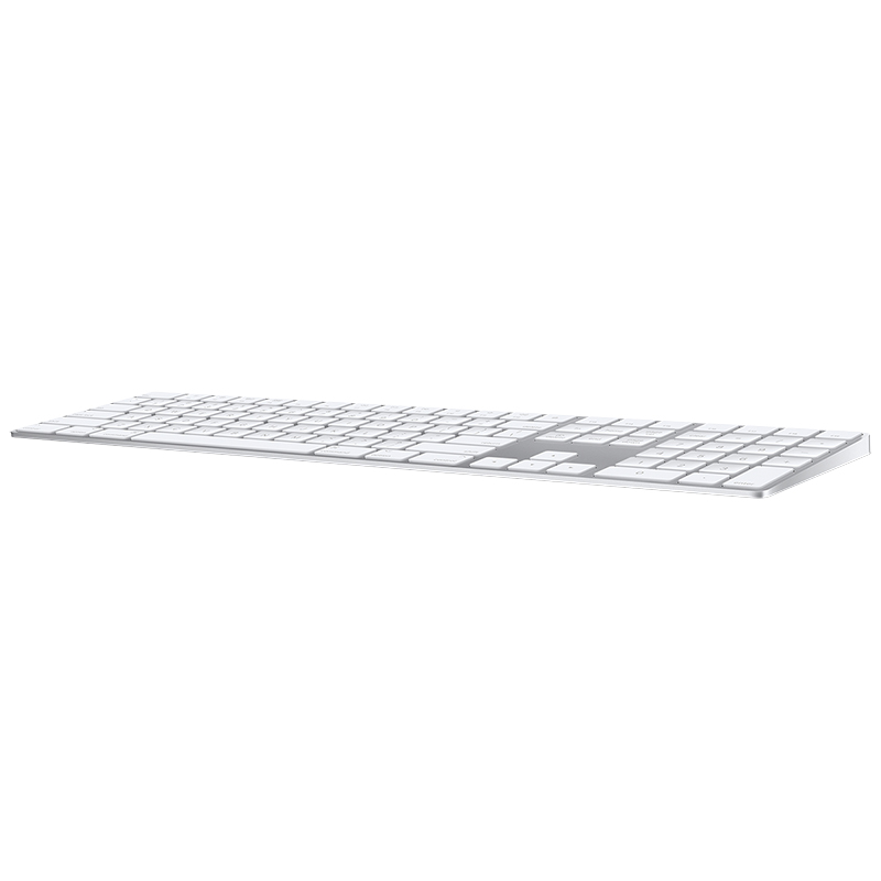 Apple Wireless Magic Keyboard with Numeric Keypad - White - MQ052LL/A