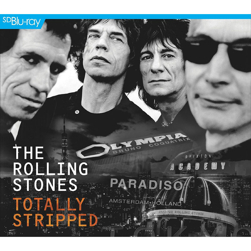 The Rolling Stones - Totally Stripped - Blu-ray