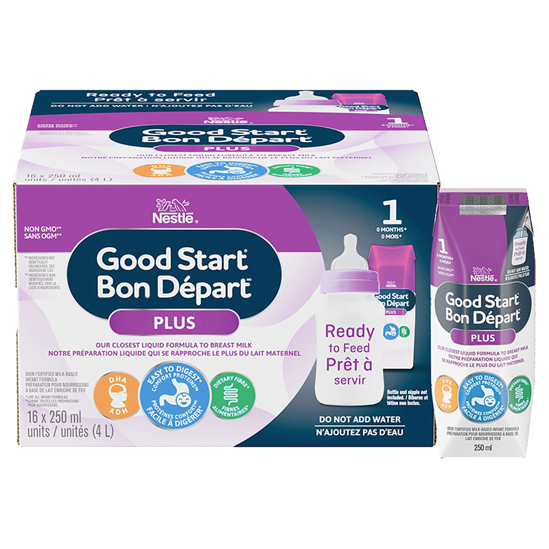Nestle Good Start Omega with GOS - Ready to Feed - 16 x 250 ml