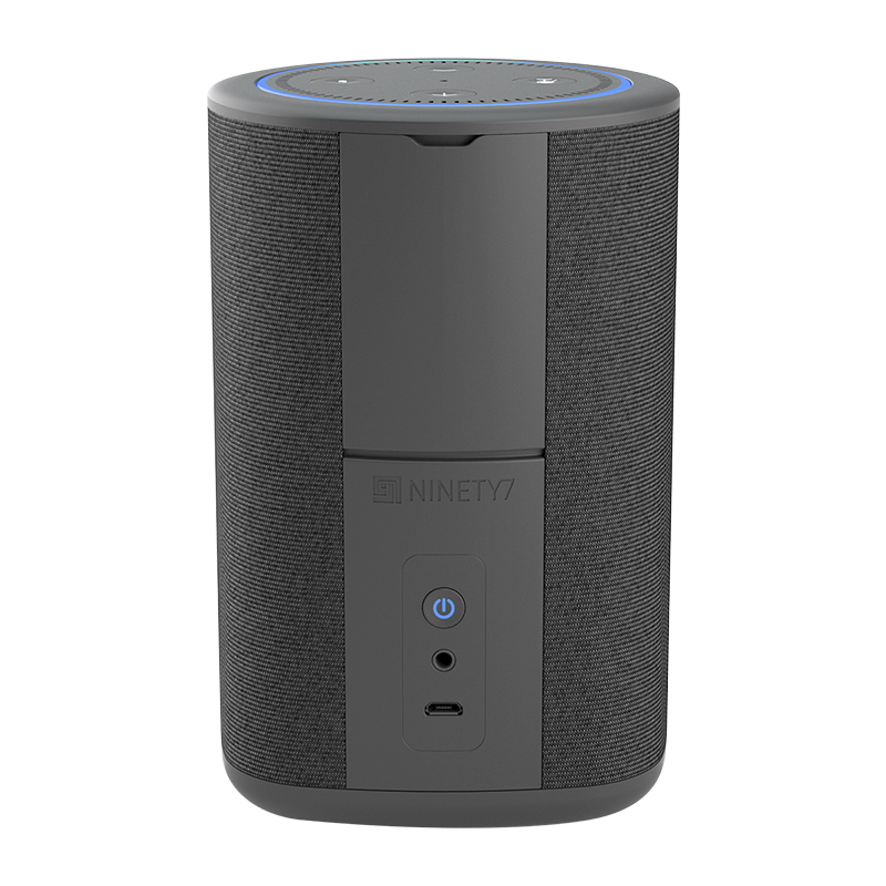 Ninety7 Vaux Speaker Base for Amazon Echo Dot - Carbon - 97-CBNVX-01