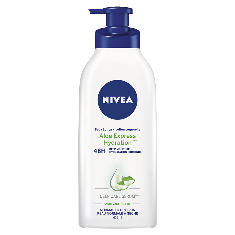 Nivea Aloe Express Hydration Body Lotion - Normal to Dry Skin - 625ml