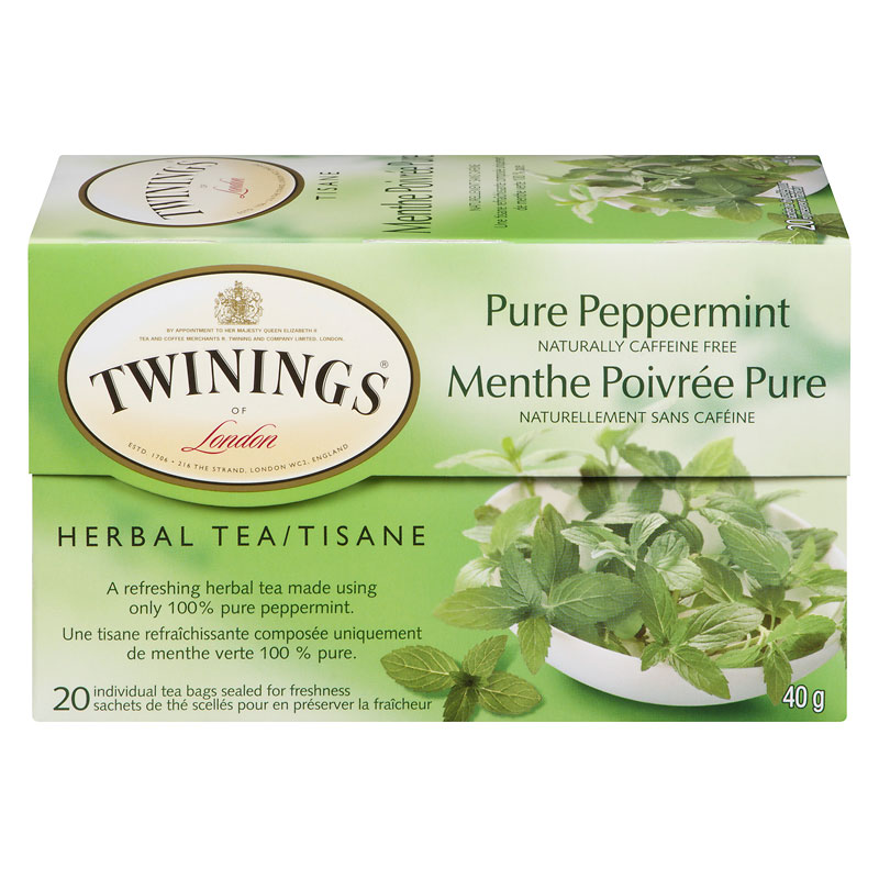 Twinings Herbal Tea - Pure Peppermint - 20's