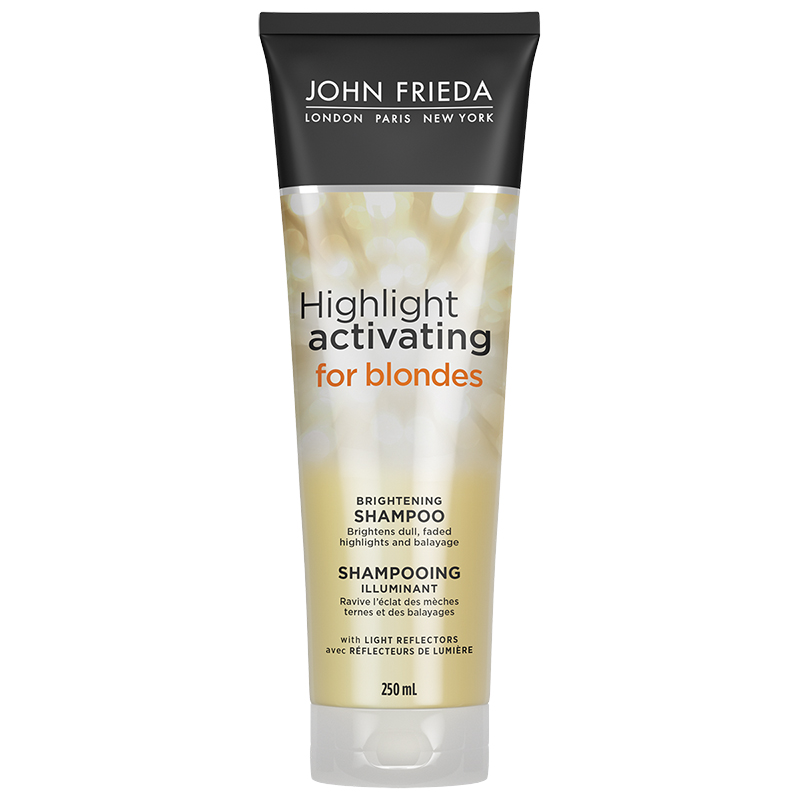 John Frieda Sheer Blonde Highlight Activating Enhancing Shampoo for Lighter Blondes - 250ml