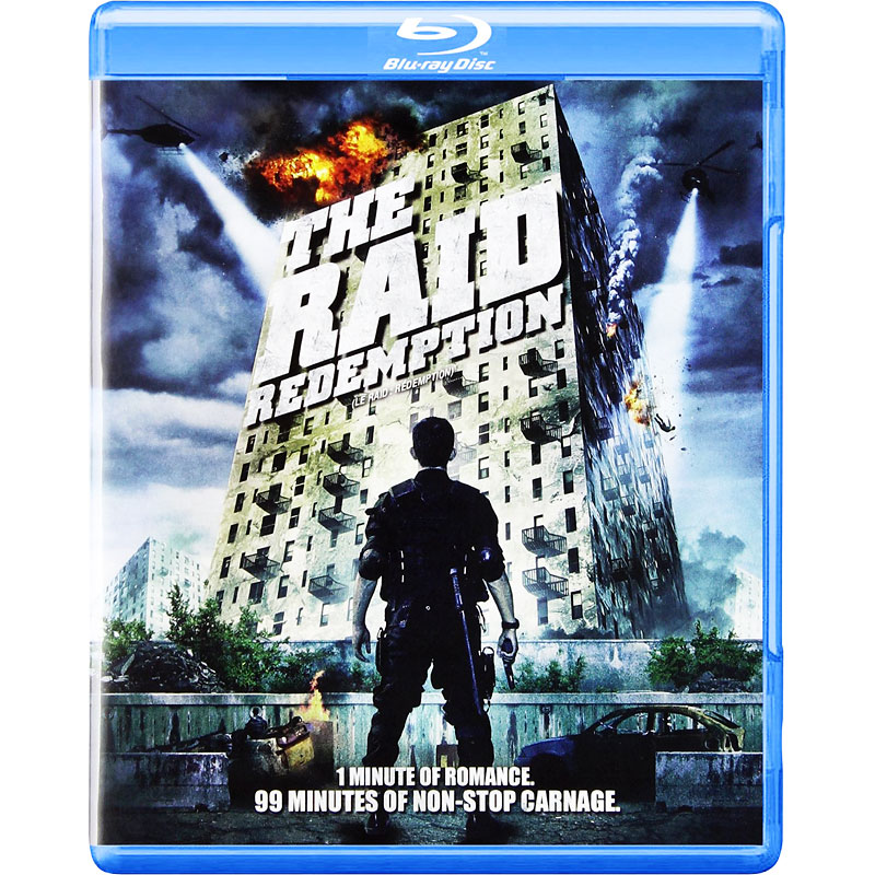 The Raid: Redemption - Blu-ray