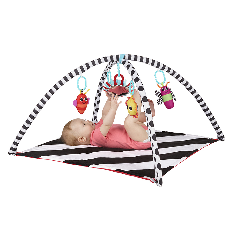 Sassy Black and White Developmental Playmat - 80681CC