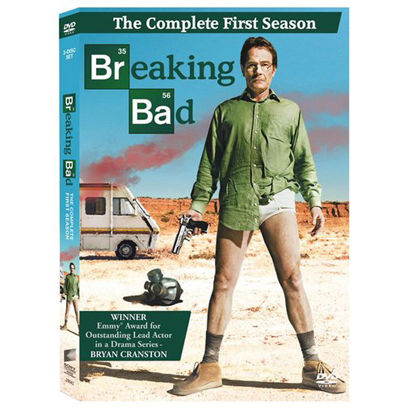Breaking Bad: The Complete First Season - DVD