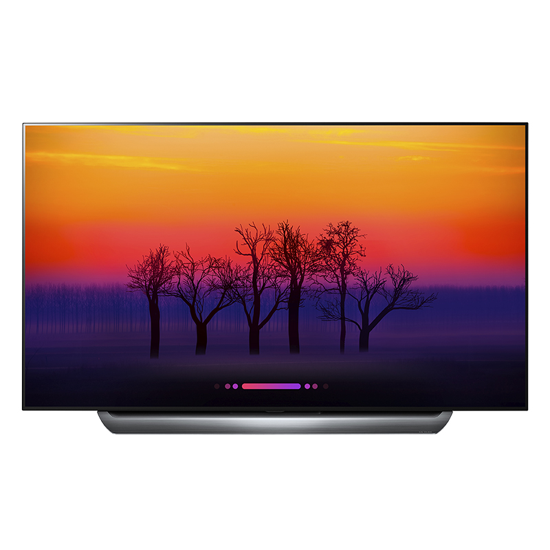 LG 65-in OLED 4K UHD Smart TV with webOS 4.0 - OLED65C8P