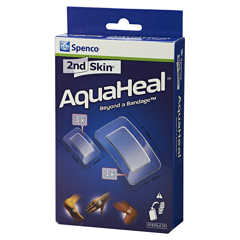 Spenco 2nd Skin AquaHeal Bandage - 6's