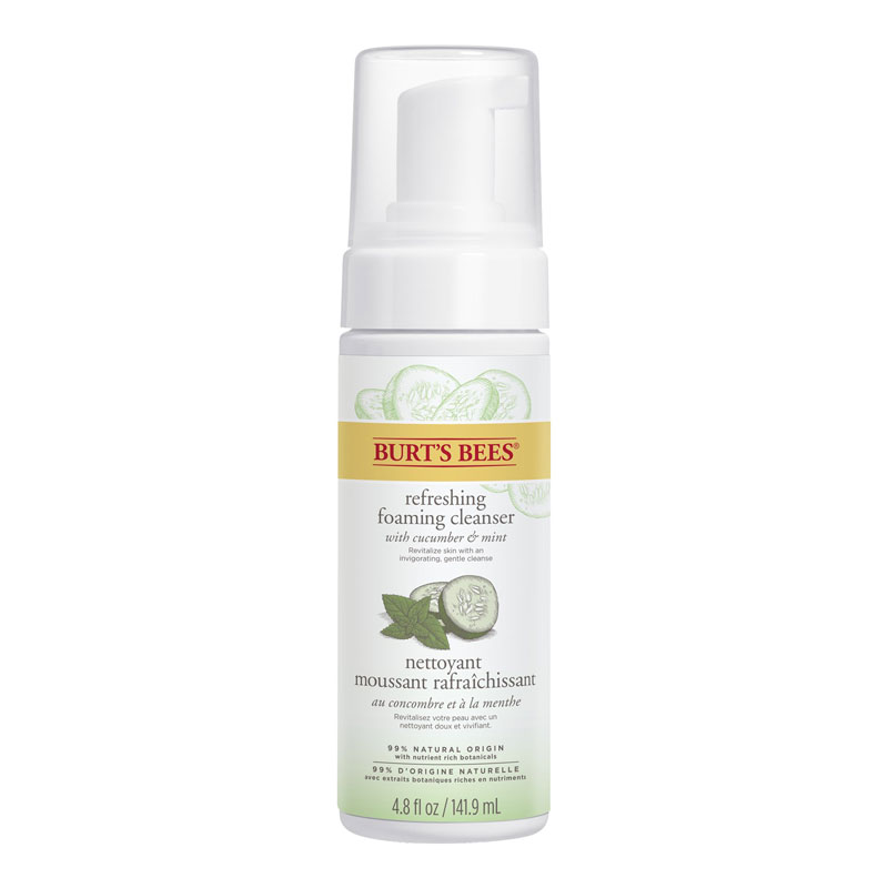 Burt's Bees Skin Nourishment Gentle Foaming Cleanser - 141.9ml