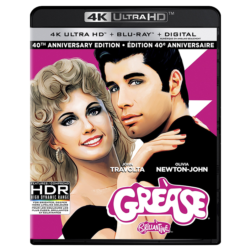 Grease 40th Anniversary Edition - 4K UHD Blu-ray