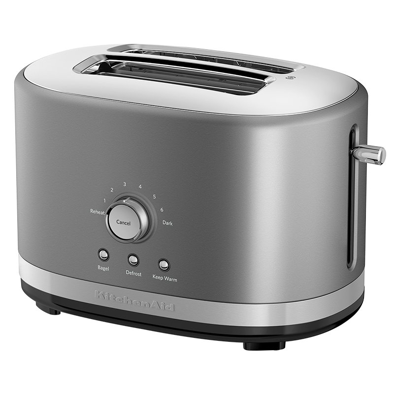 KitchenAid 2 Slice Toaster - Silver - KMT2116CU