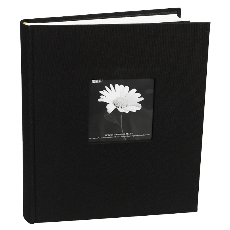 Pioneer Bi-Directional Cloth Photo Album - Assorted Colours