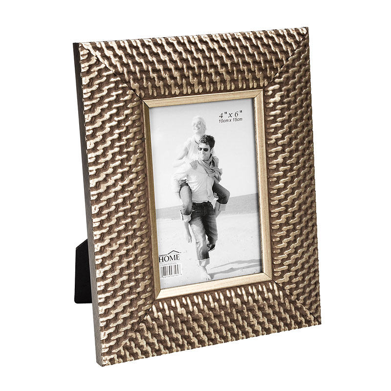 London Home Picture Frame - Chain Mail - 4x6in