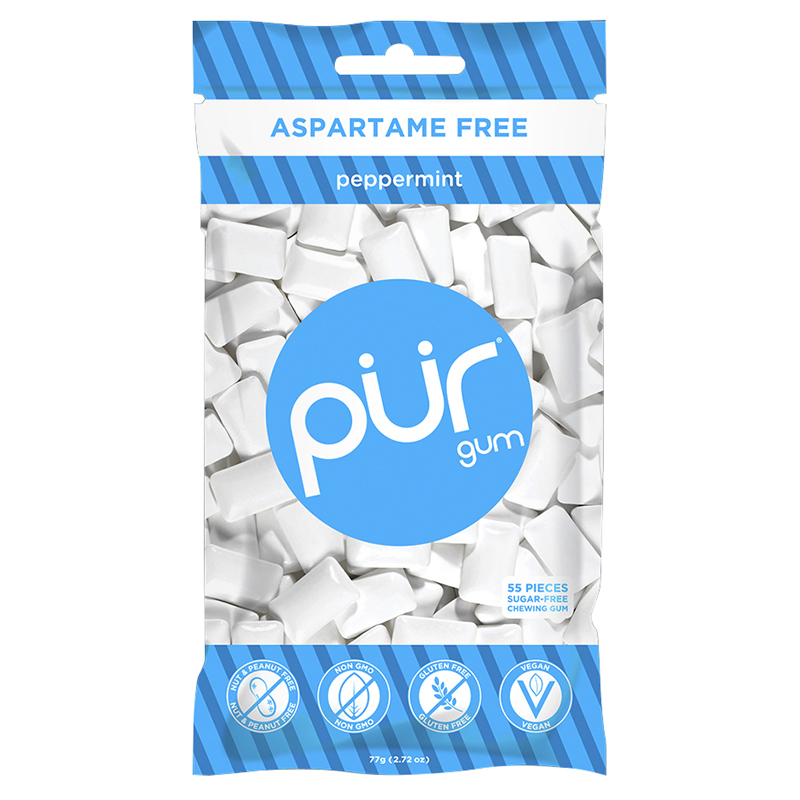 Pur Gum - Peppermint - 55 piece