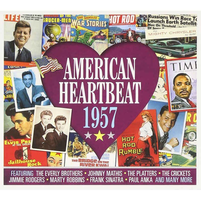 Various Artists - American Heartbeat: 1957 - 2 CD