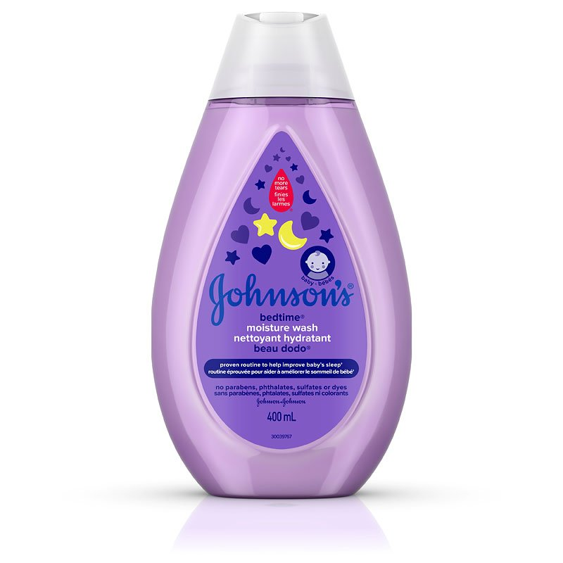 Johnson & Johnson Bedtime Moisture Wash - 400ml