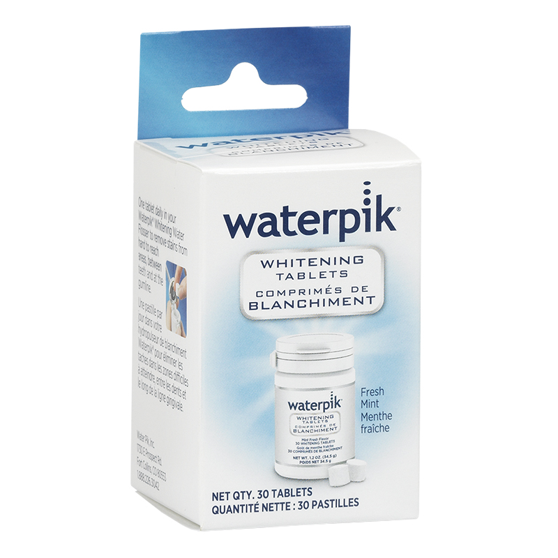 Waterpik Whitening Tablets - Fresh Mint - 30's