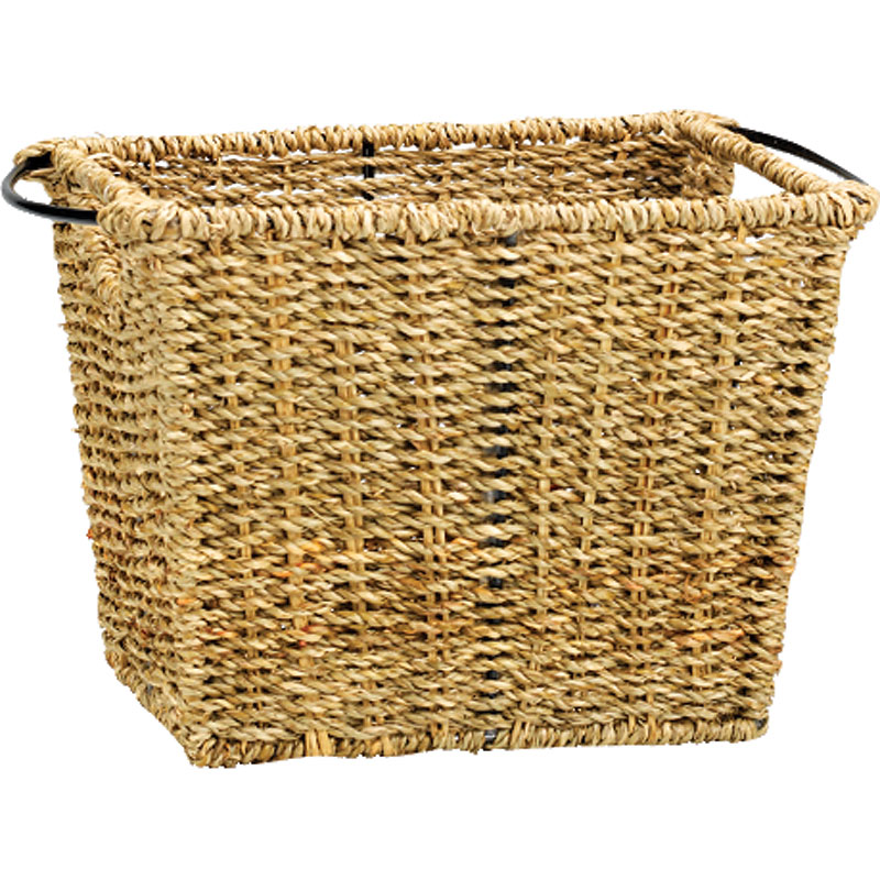 London Drugs Seagrass & Metal Basket - Small