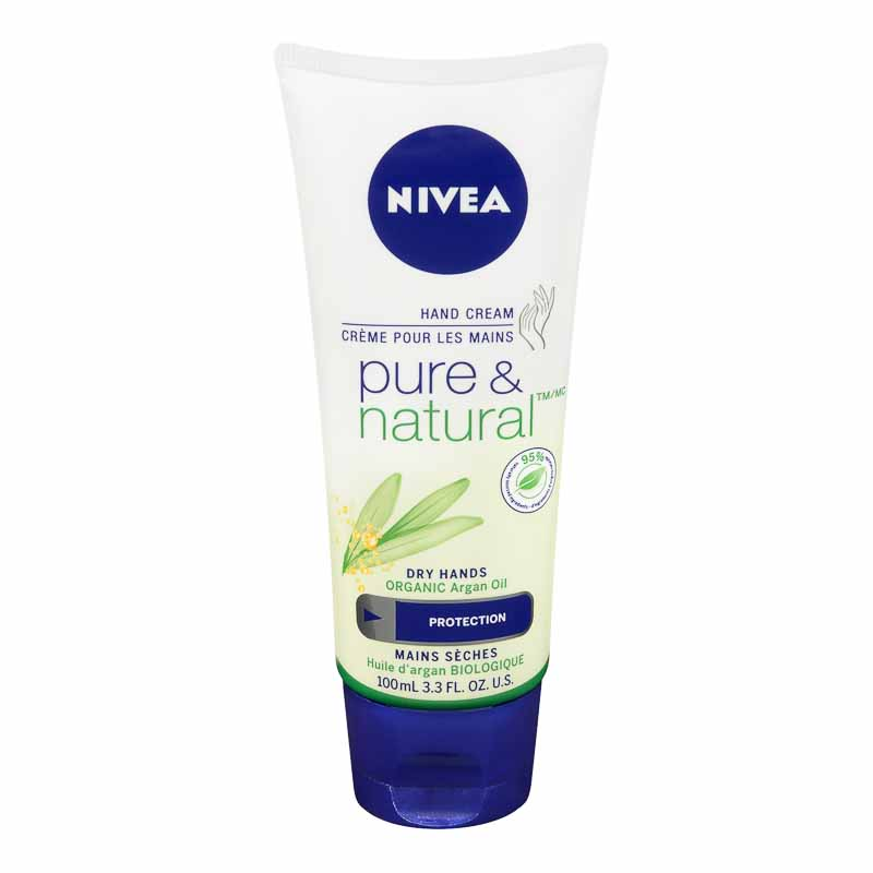 Nivea Pure & Natural Hand Cream - 100ml