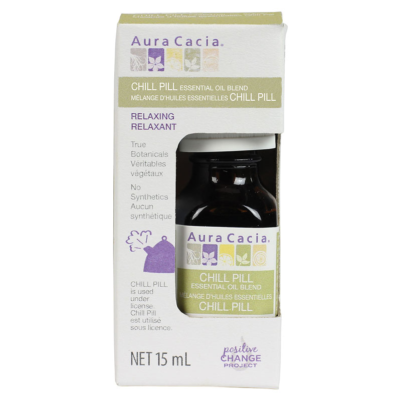 Aura Cacia Essential Oil - Chill Pill - 15ml