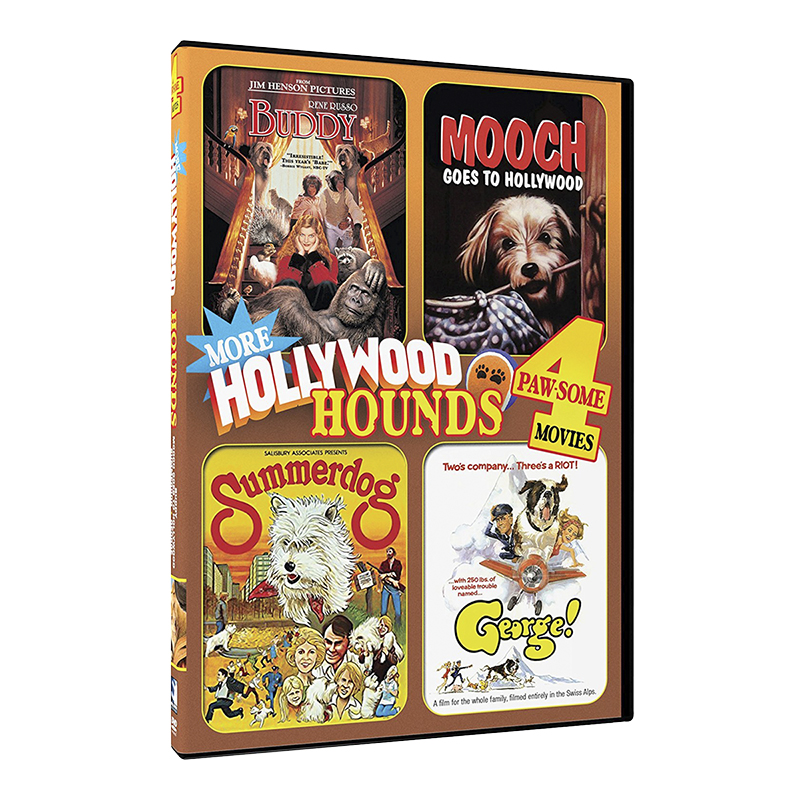More Hollywood Hounds: 4 Movie Collection - DVD