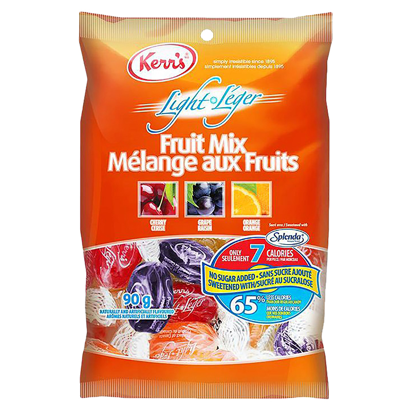 Kerr's Light Fruit Candy - 90G