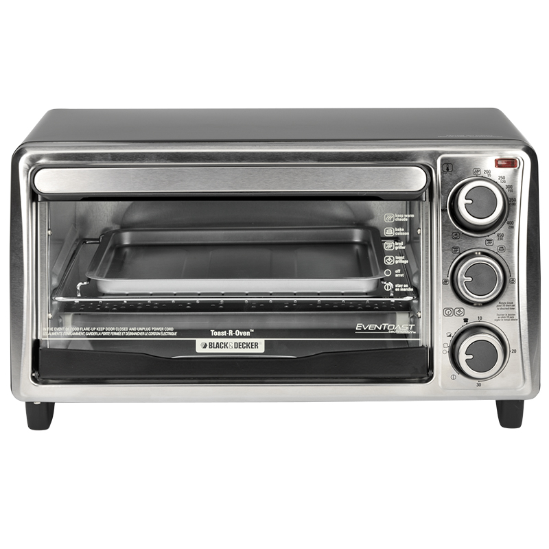 Black & Decker 4-slice Eventoast Oven - TO1303SBC