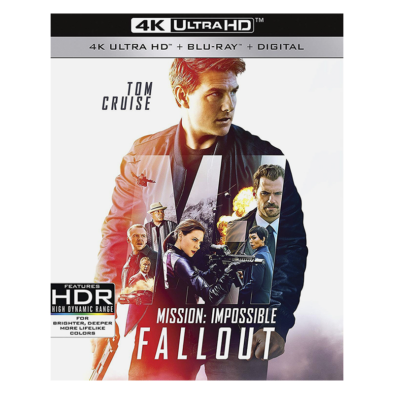 Mission: Impossible - Fallout - 4K UHD Blu-ray