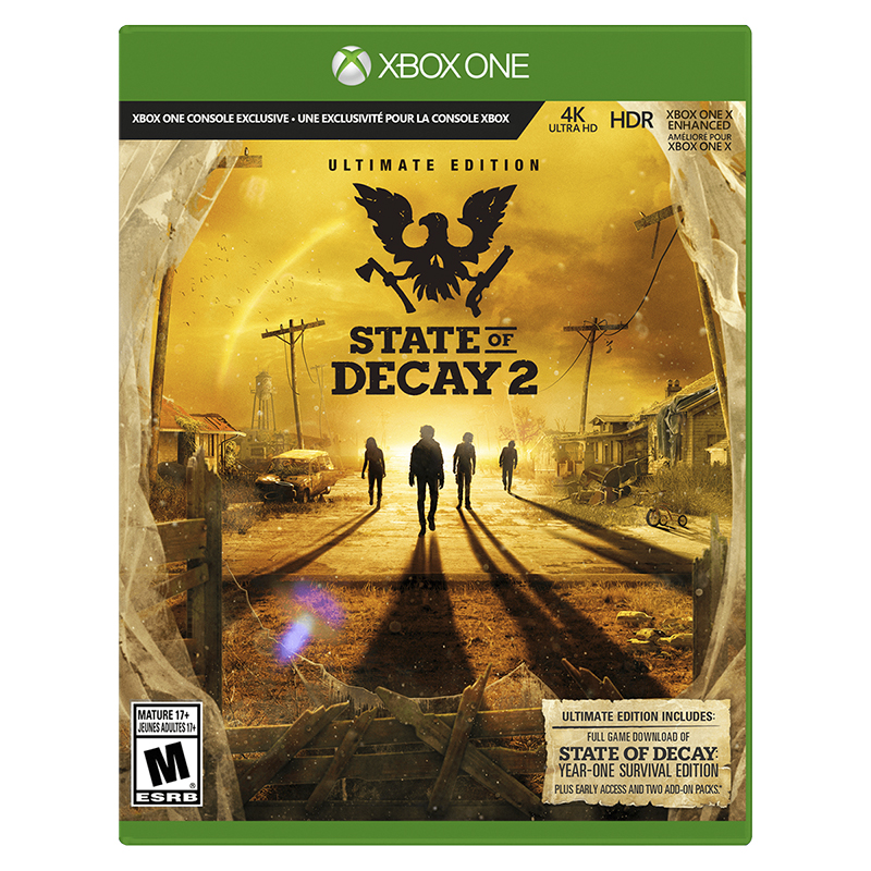 Xbox One State of Decay 2 - Ultimate Edition