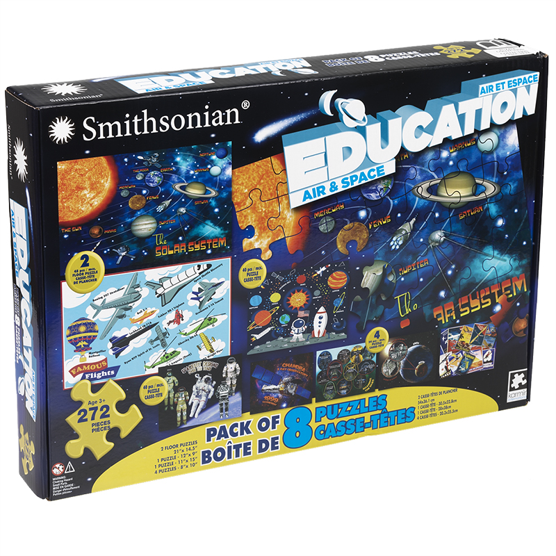 Smithsonian 8 in 1 Puzzle - Assorted