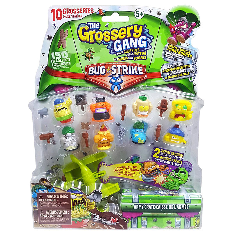 Grossery Gang Large Set S4 - Assorted