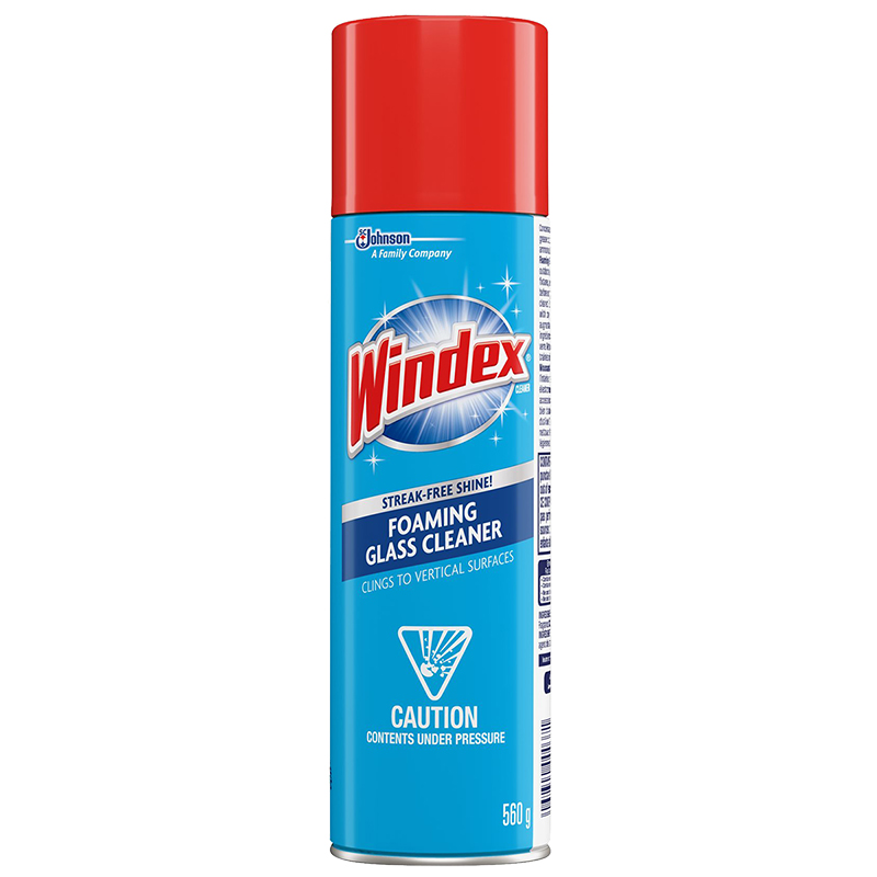 Windex Foaming Glass Cleaner - 473ml