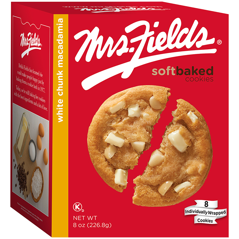 Mrs. Fields Soft-Baked Cookies - White Chunk Macadamia - 226.8g
