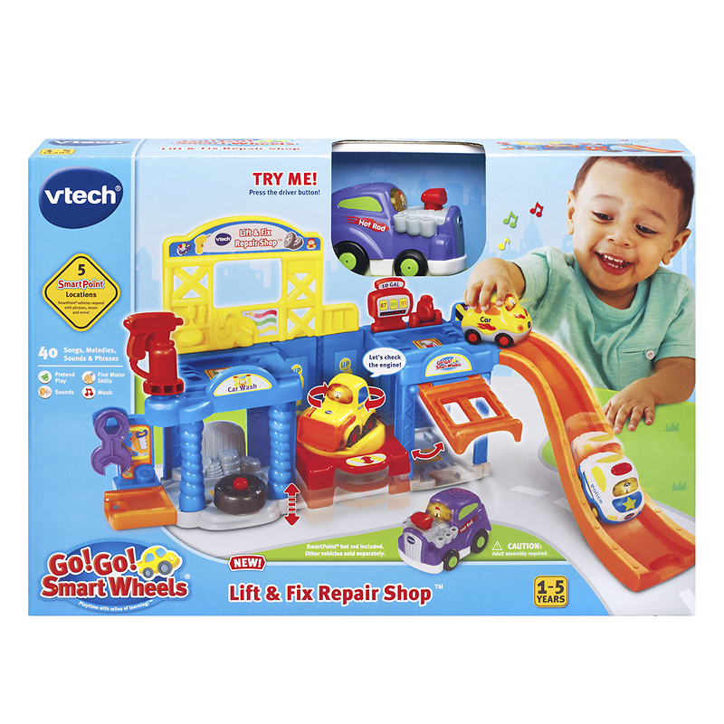 Vtech GoGo  Smart Wheels Lift & Fix Repair Shop