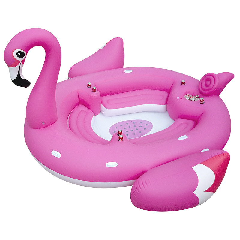 Flamingo Float Island