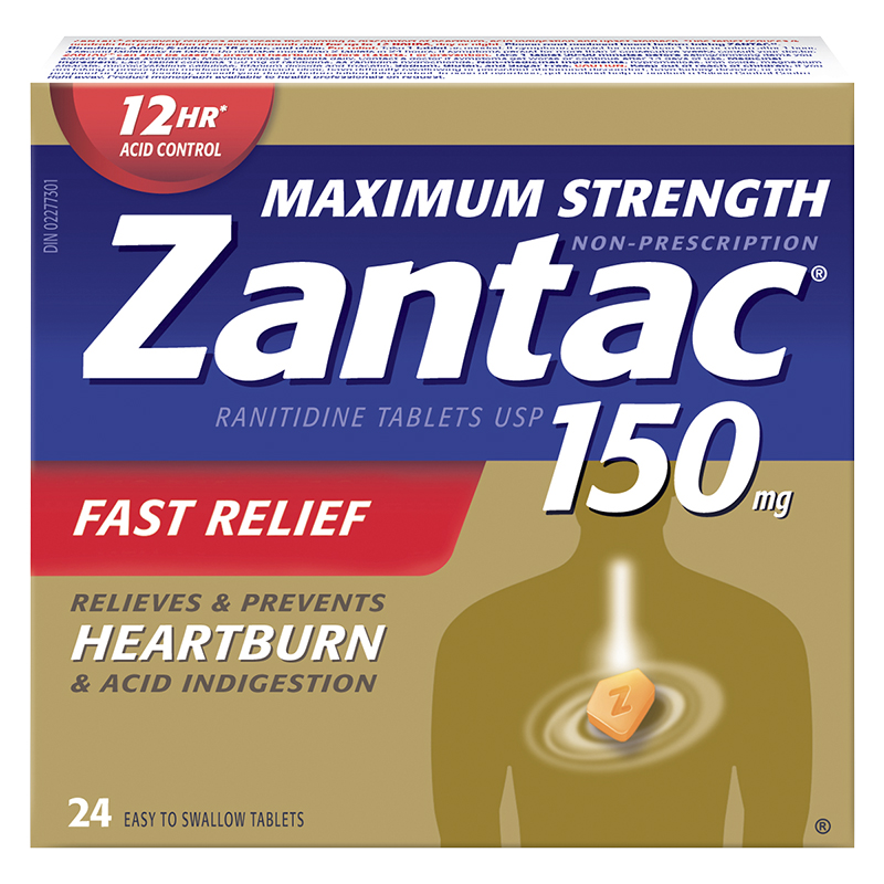 Zantac Maximum Strength - 150mg - 24's