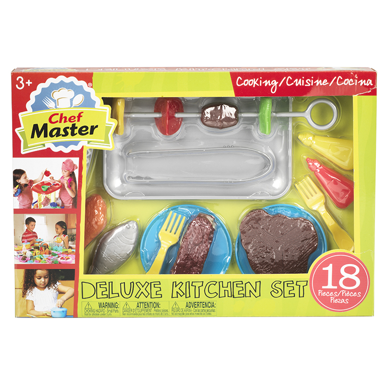 Chef Master Deluxe Kitchen Set - Flip and Sizzle