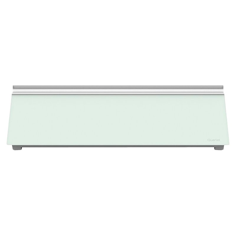"Quartet Glass Desktop Dry-Erase Pad - 18""x6"""