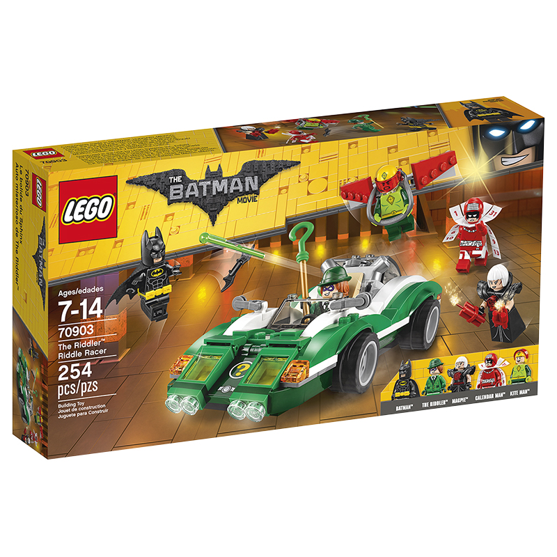 LEGO® Batman Movie - The Riddler Riddle Racer