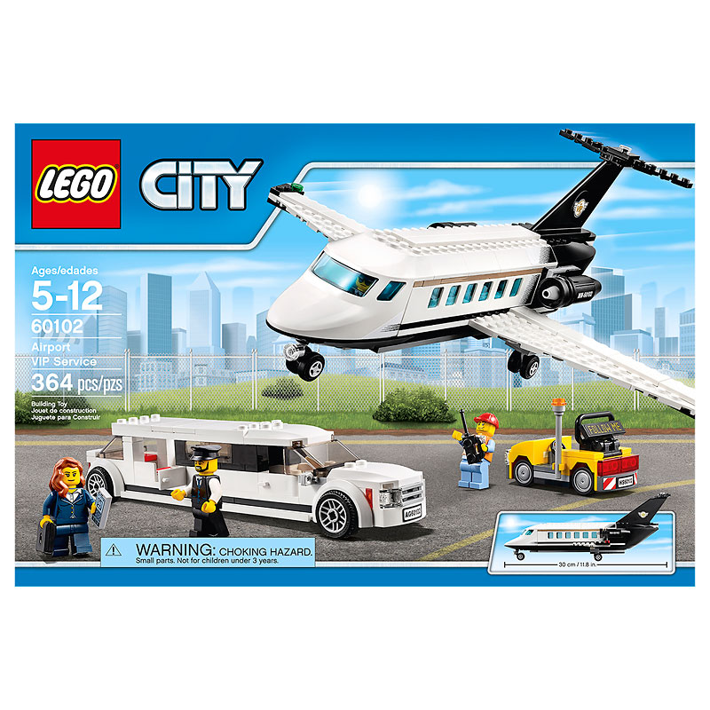 Lego City Airport VIP Service - 364 Pieces