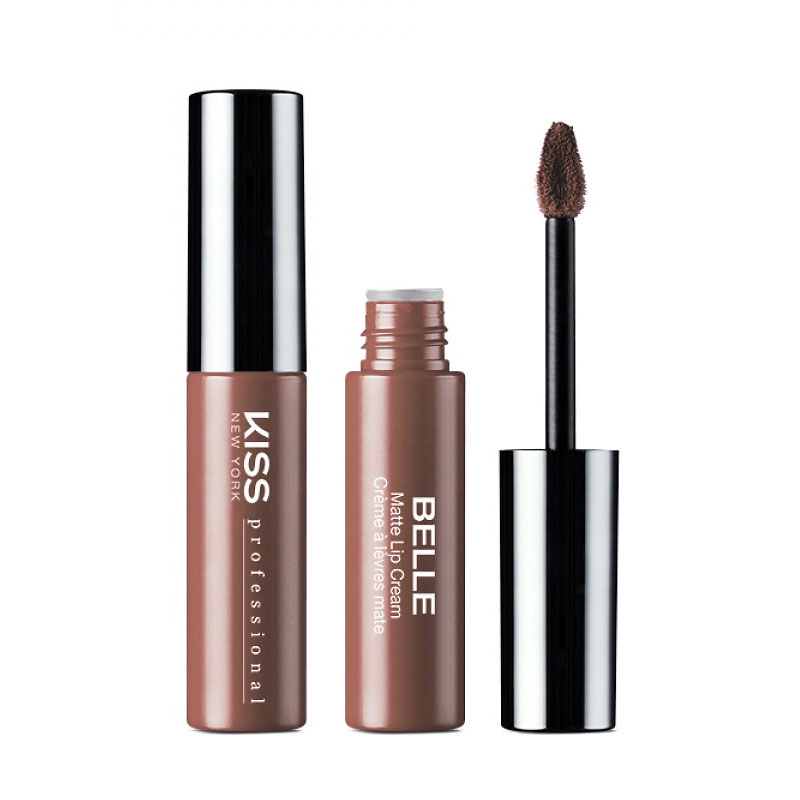 Kiss Pro Belle Soft Matte Lip Cream - Nudie Tutie