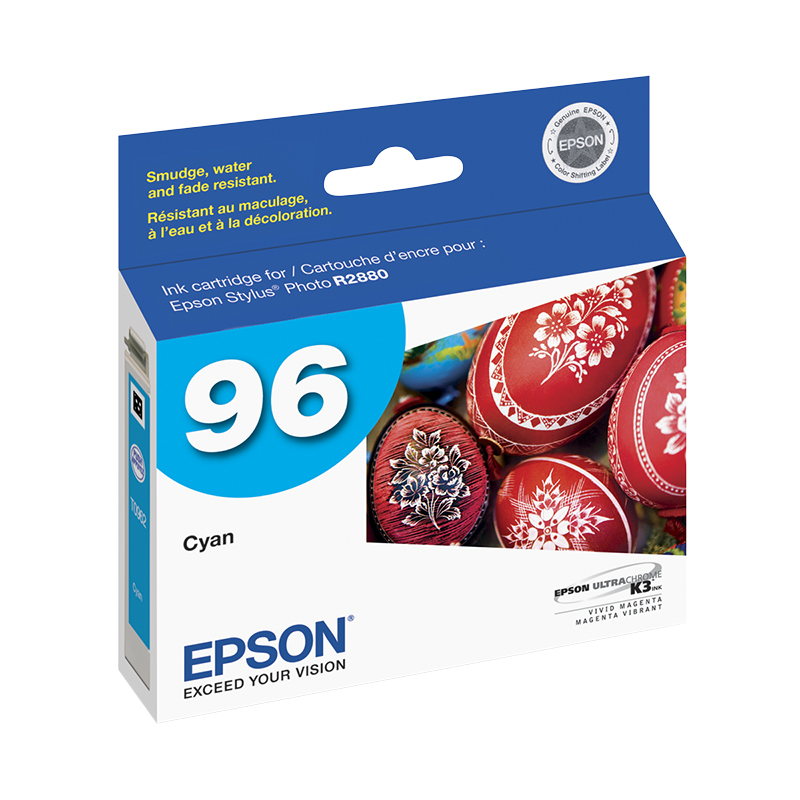 Epson Stylus Photo R2880 Ink Cartridge - Cyan - T096220